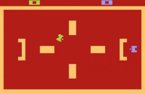 Atari Tanks game